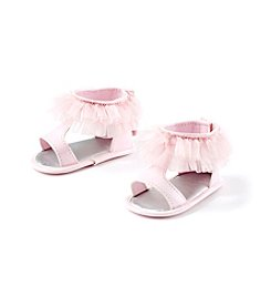 Cuddle Bear® Baby Patent T-Strap Prewalker Sandal