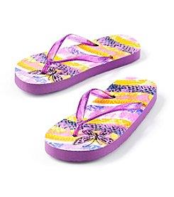 Mambo® Girls' Butterfly Flip-Flop