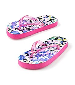 Mambo® Girls' Animal World Flip Flop