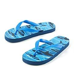 Mambo® Boys' Sharks Flip Flops