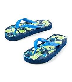 Mambo® Boys' Dino Green Flip Flop