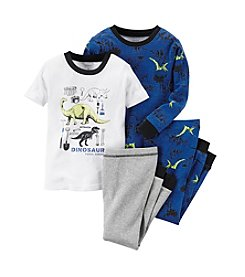 Carter's® Baby Boys Dino Print 4-Piece Pajama Set