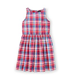 Ralph Lauren Childrenswear Girls' 7-16 Plaid Dress