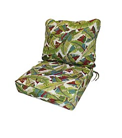 Greendale Home Fashions Deep Seat Cushion Set in Palm