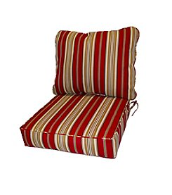 Greendale Home Fashions Deep Seat Cushion Set in Roma Stripe