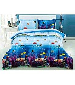HomeChoice Corally 3-pc. Comforter Set