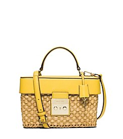 MICHAEL Michael Kors® Straw Gabriella Medium Satchel