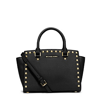 MICHAEL Michael Kors® Selma Medium Studded Leather