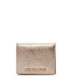 MICHAEL Michael Kors® Jet Set Saffiano Leather Flap Card Holder