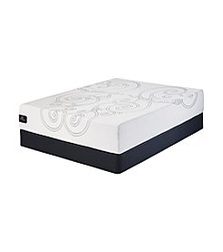 Serta® Perfect Sleeper Brightondale Plush Memory Foam Mattress & Box Spring Set