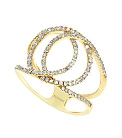 Effy® D'Oro Collection .42 Ct. T.W. Diamond Ring In 14k Yellow Gold