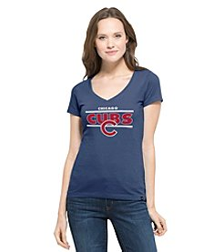 47 Brand ® MLB® Chicago Cubs Clutch Women's Short Sleeve Tee