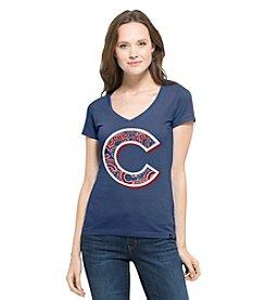 47 Brand ® MLB® Chicago Cubs Women's Crosstown Short Sleeve Tee