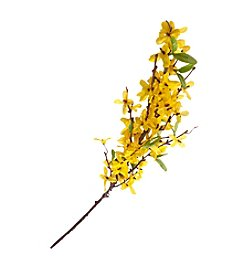 LivingQuarters Botanical Collection Yellow Forsythia Stem