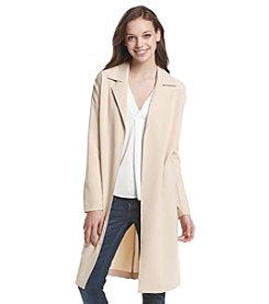 Kensie® Twill Trench Jacket