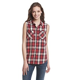 Hippie Laundry Plaid Flannel Shirt