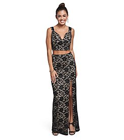 Emerald Sundae® Lace Two Piece Dress