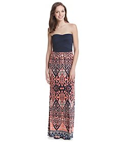 Trixxi® Printed Maxi Dress