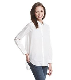 Ultra Flirt® Button Front Shirt