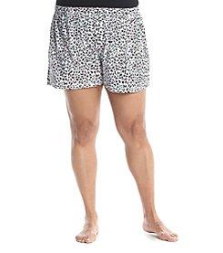 HUE® Plus Size Printed Pajama Boxer