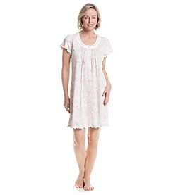 Miss Elaine® Printed Night Gown