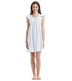 KN Karen Neuburger Printed Nightgown
