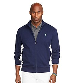 Polo Ralph Lauren® Men's Big & Tall Full Zip Interlock Long Sleeve Track Jacket
