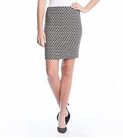 Karen Kane® Diamond Print Skirt