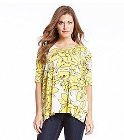 Karen Kane® Magnolia Print Tunic