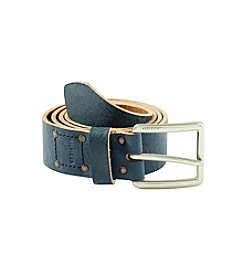 Tommy Hilfiger® Men's Box Stitch Leather Belt