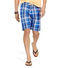 Polo Ralph Lauren® Men's Plaid Shelter Island Swim Trunks