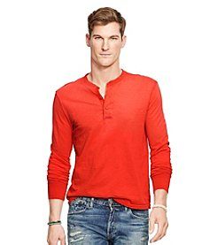 Polo Ralph Lauren® Men's Slub Cotton Long Sleeve Henley