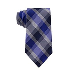 Calvin Klein Men's Box Plaid Patterned Tie
