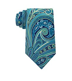 Geoffrey Beene® Men's Paisely Swirl Patterned Tie