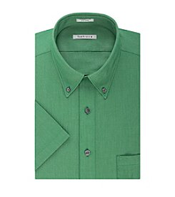 Van Heusen® Men's Short Sleeve Oxford Button Down Shirt