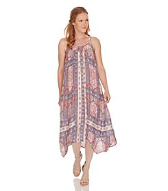 Lucky Brand® Sleeveless Tapestry Print Dress