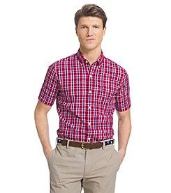 Izod® Men's Saltwater Short Sleeve Button Down Shirt
