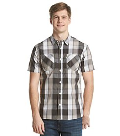 Levi's® Men's Two Pocket Plaid Buddy Short Sleeve Button Down Shirt