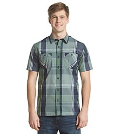Levi's® Men's Two Pocket Plaid Appleton Short Sleeve Button Down Shirt