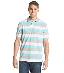 John Bartlett Consensus Men's Rugby Stripe Pique Polo