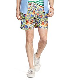 Polo Ralph Lauren® Men's Tiger Print Traveler Swim Shorts