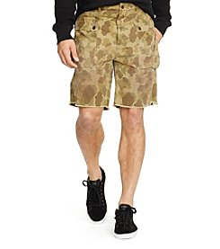 Polo Ralph Lauren® Men's Relaxed Fit Camo M44 Cargo Shorts