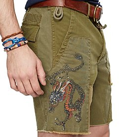 Polo Ralph Lauren® Men's Straight Fit Pieced Mountain Shorts