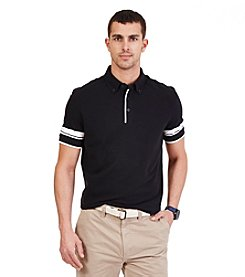 Nautica® Men's Short Sleeve Striped Polo