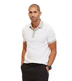 Nautica® Men's Short Sleeve Contrast Polo