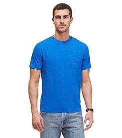 Nautica® Men's Short Sleeve Pocket Crew Neck Tee