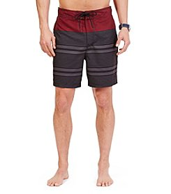 Nautica® Men's Tonal Stripe Swim Trunks