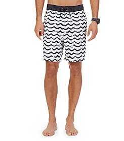 Nautica® Men's Brushed Waves Swim Trunks