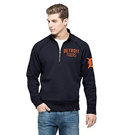 MLB® Detroit Tigers Men's Gamebreak Long Sleeve Quarter Zip Pullover