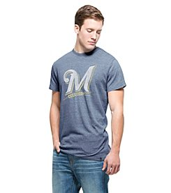 MLB® Milwaukee Brewers Men's Tri-Blend Short Sleeve Tee